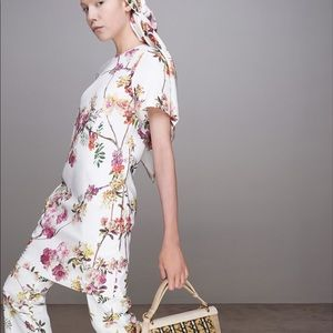 Giambattista Valli Resort 2014 Floral Print Vest